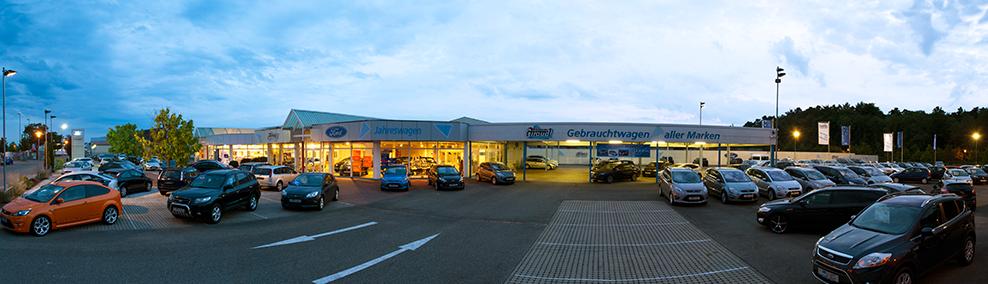 Das aktuelle Autocenter Giraud Gebäude