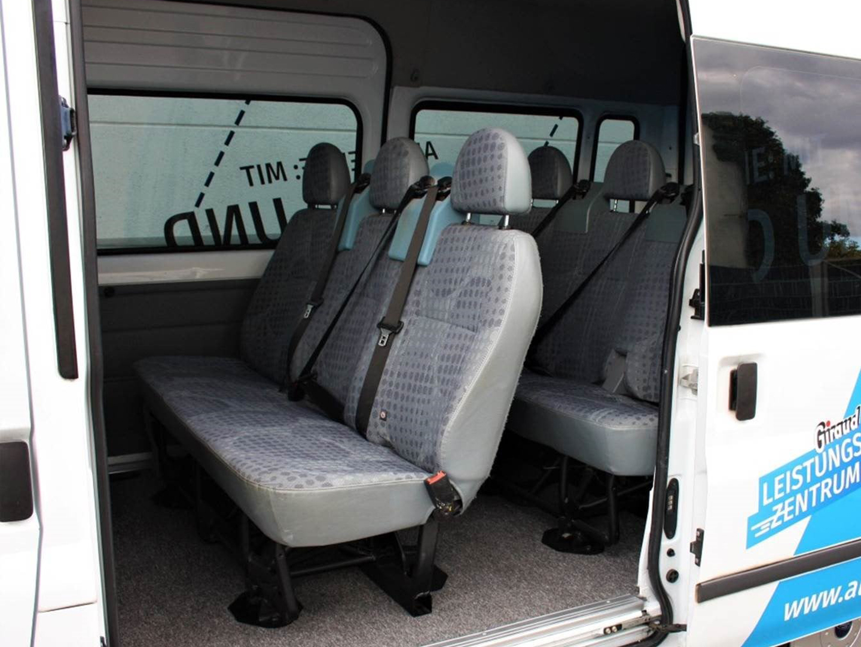 Innenansicht Transit Kombi 9-Sitzer Transit Kombi 9-Sitzer