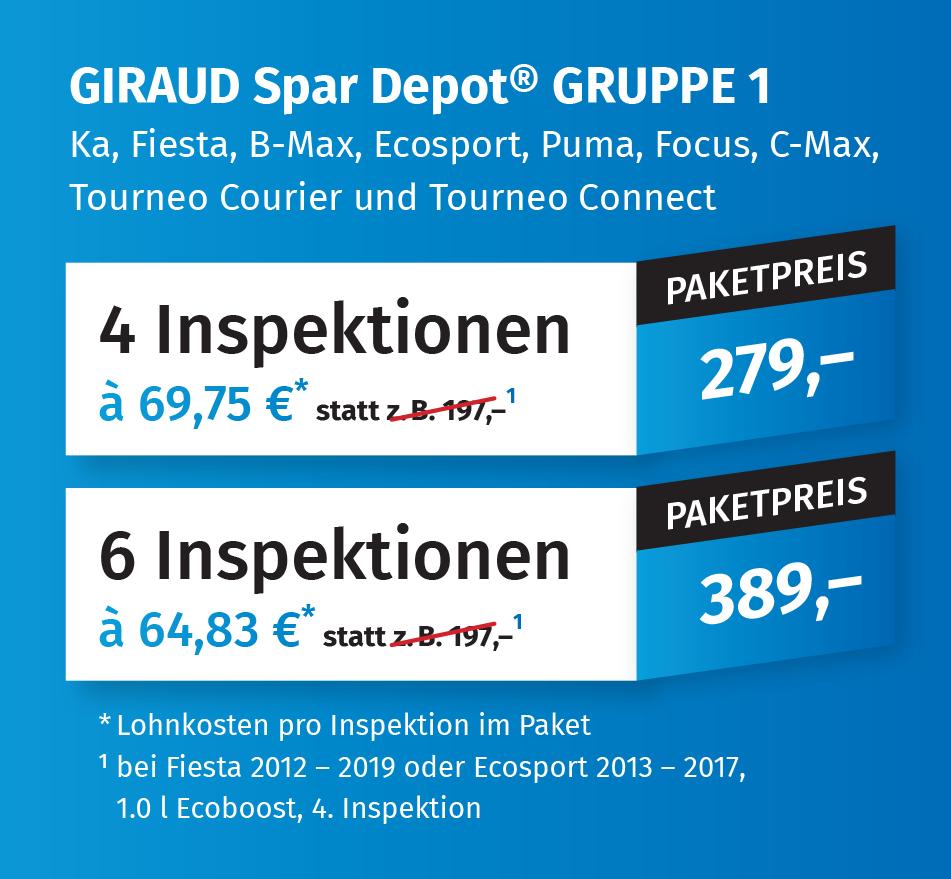 Giraud Spar Depot Gruppe 1