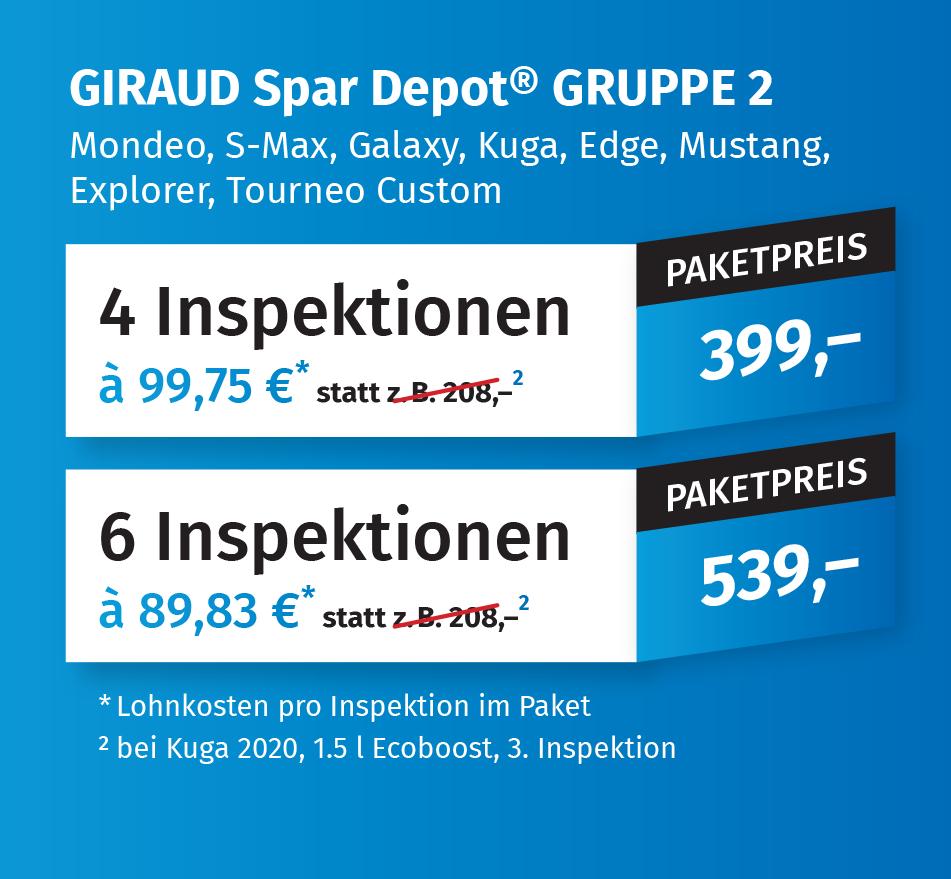 Giraud Spar Depot Gruppe 2